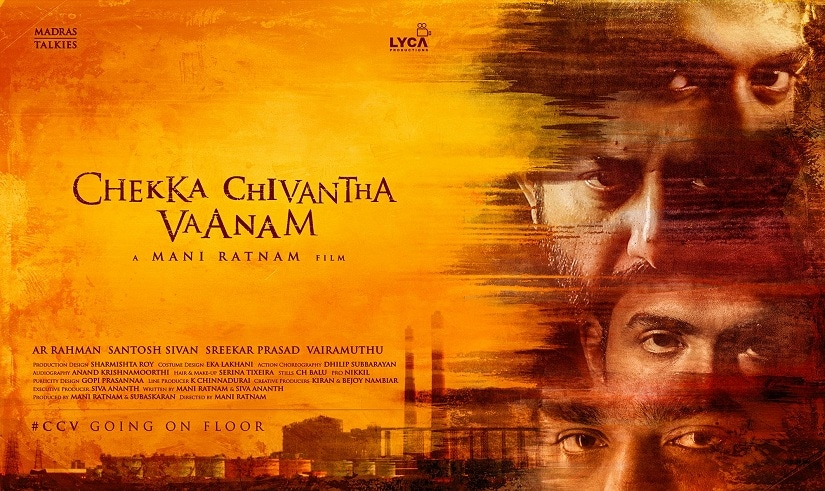First-look poster of Mani Ratnam's Chekka Chivantha Vaanam