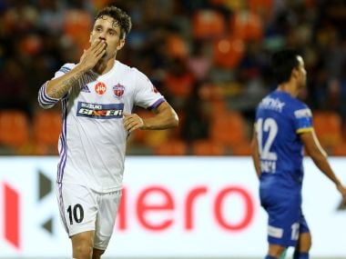 FC Pune City remained on course for a place in the semi-finals with a win over Mumbai City FC. Image Courtesy: ISL