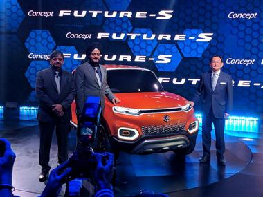 The Maruti Suzuki Concept Future S