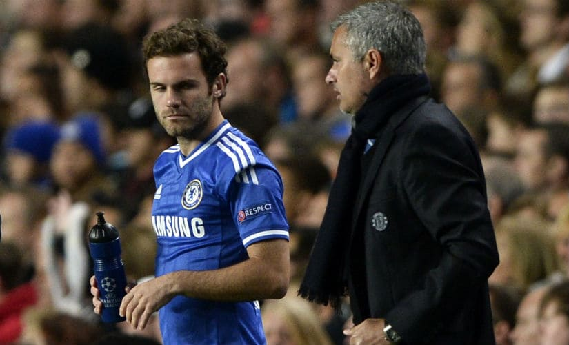 Former Chelsea manager and playmaker Juan Mata. Reuters