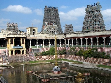 File image of the Meenaxi temple in Madurai. Courtesy: Wikimedia Commons