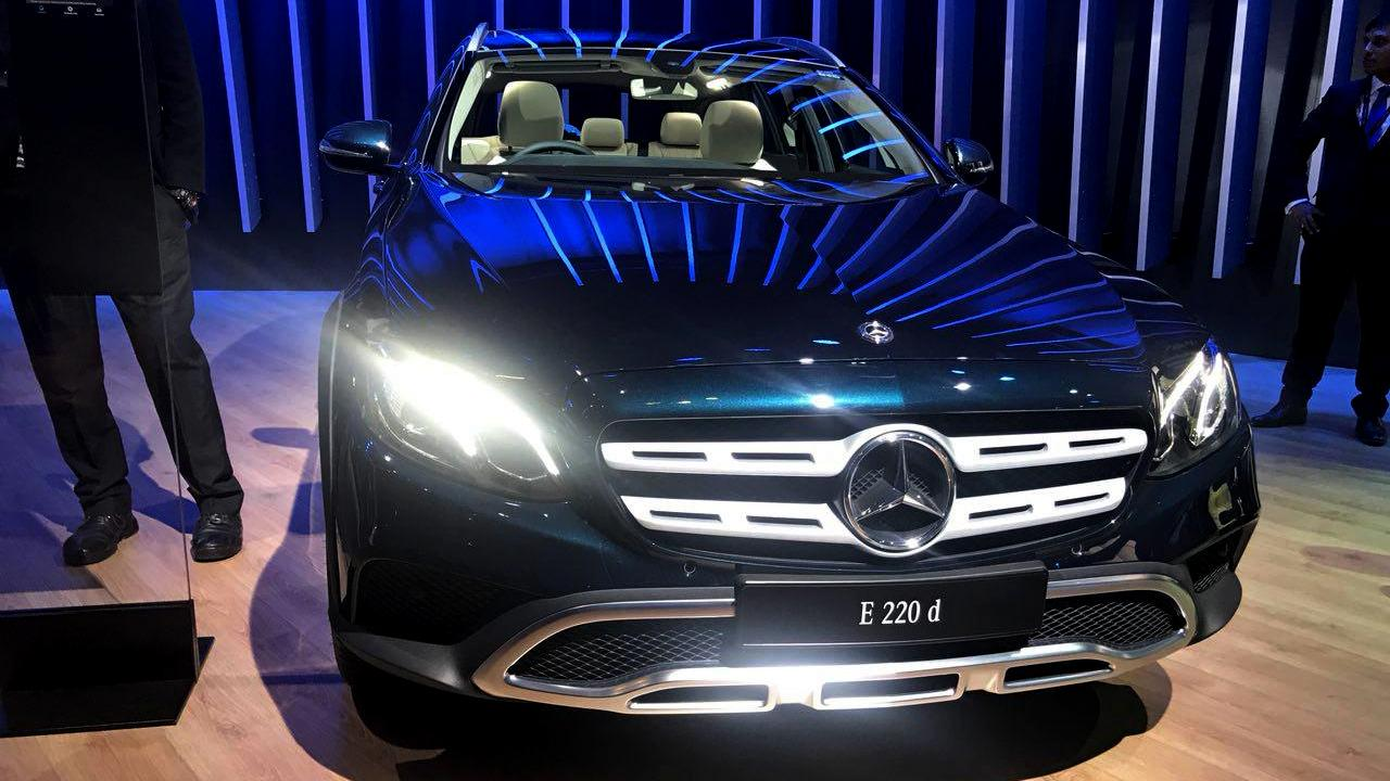 Mercedes E-Class All-Terrain makes India debut at Auto Expo 2018