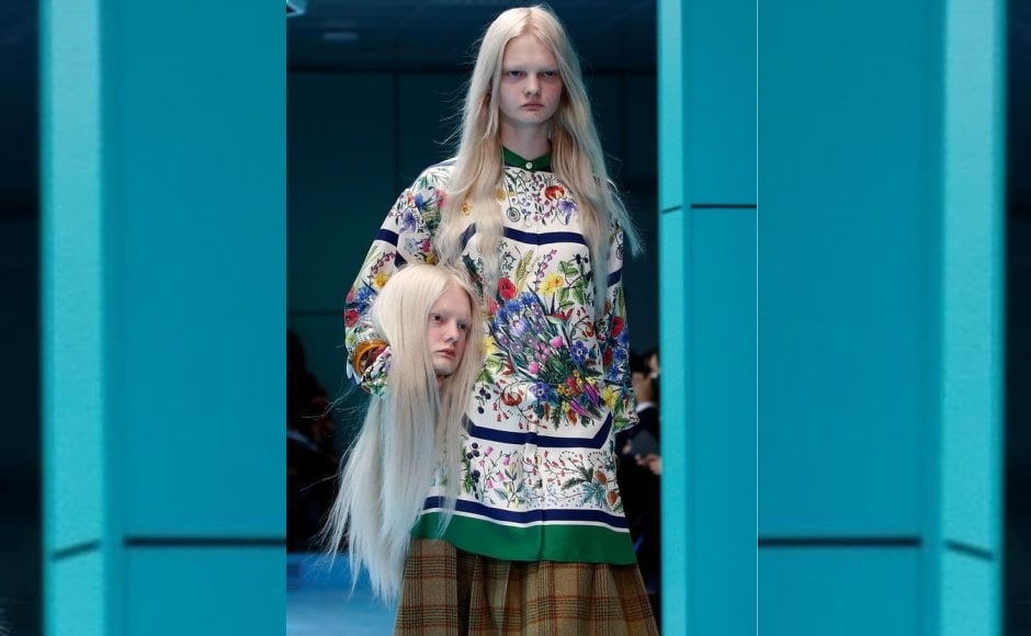 Milan Fashion Week 2018: Gucci presents bizzare collection; Moschino goes back to the sixties