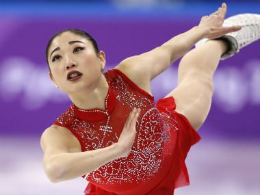 Mirai Nagasu became the third woman overall to successfully land the triple Axel jump. Reuters