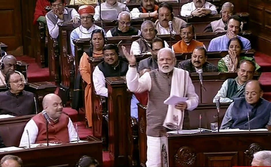 Meanwhile, in Rajya Sabha, the prime minister yet again trained his guns on the Congress. He used Ghulam Nabi Azad's speech as a takeoff point. From dynasticism to Emergency, Modi used the Motion of Thanks on President's address as an opportunity to hit back at his political rivals. PTI