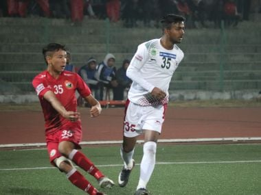 Mohun Bagan hardly had to break a sweat to beat Shillong Lajong in the I-League. Image Courtesy: I-League