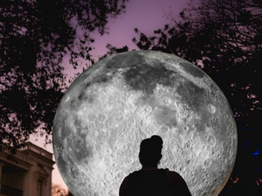 Museum of the Moon: Giant 23-ft Moon replica is being showcased in Victoria Memorial gardens in Kolkata this weekend
