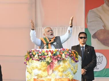 Narendra Modi in Tripura: BJP catches notice in Left bastion as PM flays govt for slowing down development