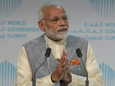 Narendra Modi champions Aadhaar and GST in Dubai, says technology must be used for development, not destruction