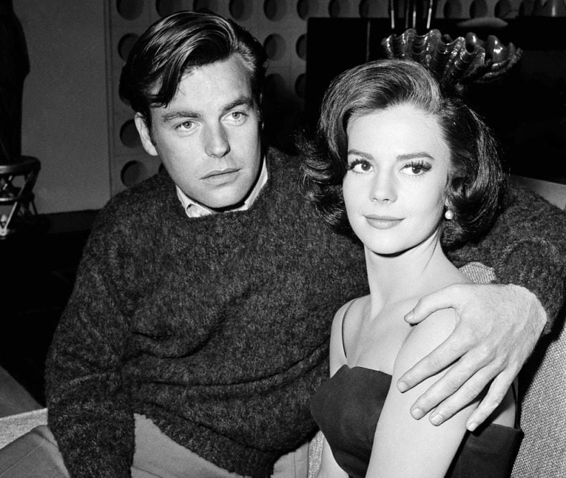 Natalie Wood and her husband Robert Wagner. AP