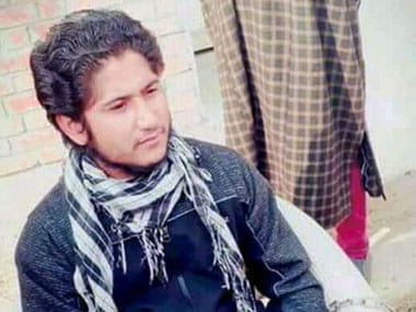 File photo of Naveed Jaat, the LeT militant from Pakistan, who managed to escape with the assailants after LeT militants attacked Srinagar hospital. PTI