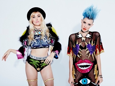 DJ duo act Nervo's Miriam and Olivia talk about being twins, what Britney Spears is like offstage