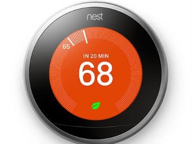 Nest thermostat.