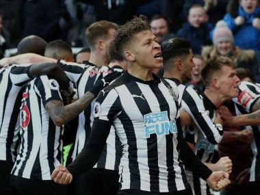 Newcastle United pulled clear of the relegation zone with win over Manchester United. AFP