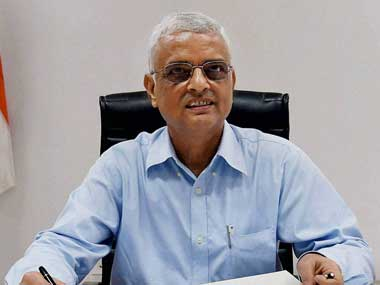 File image of Chief Election Commissioner OP Rawat. PTI