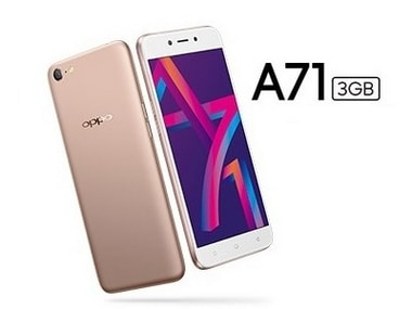 Oppo A71 with Android 7.1 Nougat, 3 GB RAM, and 'AI Beauty' mode launched in India