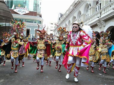 File image of the Oruro carnival. Wikimedia Commons