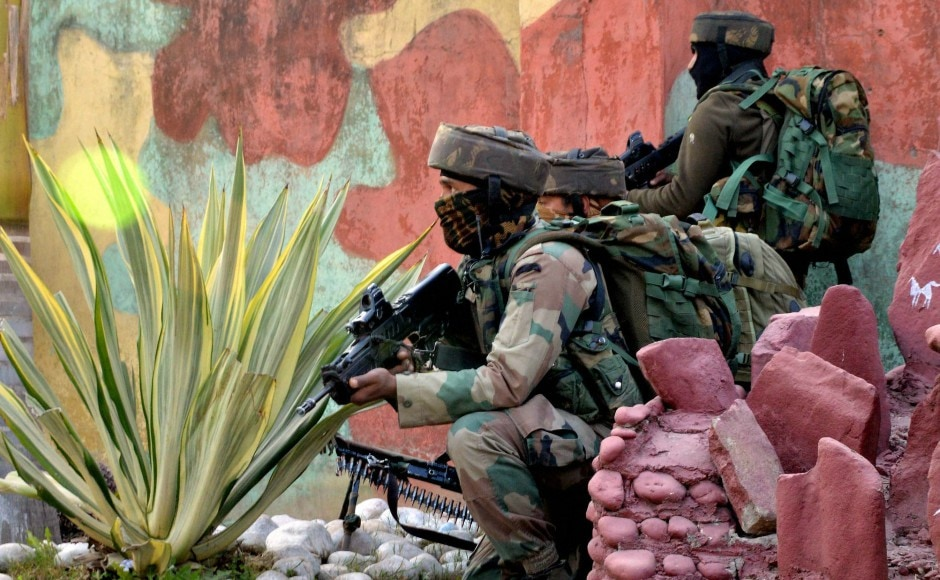 The sources said that soldiers at the Sunjuwan Military Station close to Jammu city noticed suspicious movement near the camp around 4.45 am on Saturday. PTI