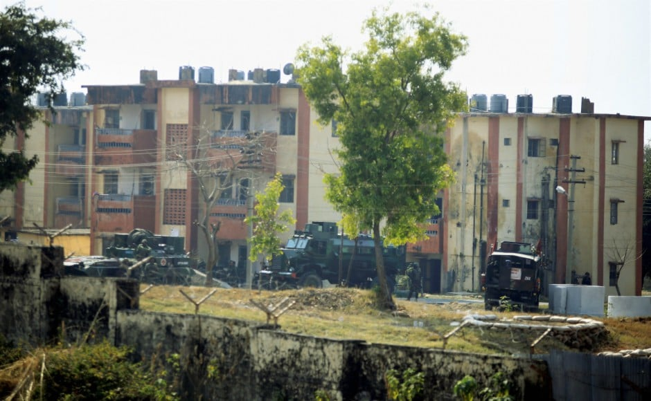 Army officials said that the terrorists breached the rear side of the Sunjuwan army camp near Chenni in the outskirts of the city during the intervening night. PTI