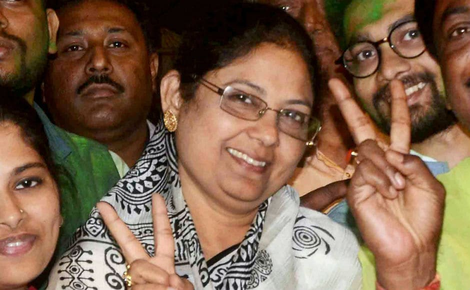 TMC's candidate Sajda Ahmed received a record 7,67,219 votes and won by four lakh votes. Sajda is the wife of TMC MP Sultan Ahmed, whose death necessitated the bypoll. PTI