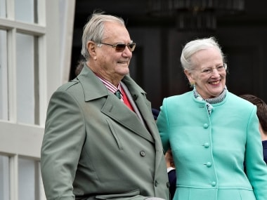 File image of Prince Henrik and Queen Margrethe. Reuters