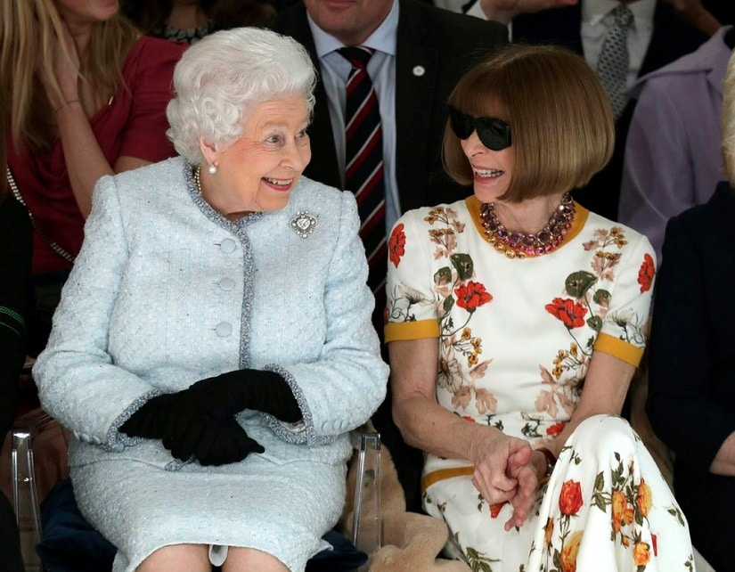 Queen Elizabeth II's First Fashion Week Appearance In Photos