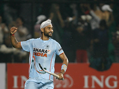 File image of former India captain Sandeep Singh. Reuters