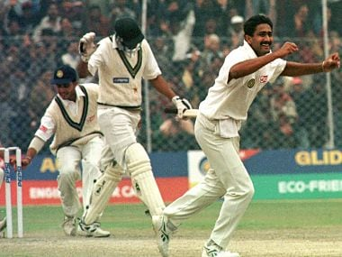 Relive Anil Kumble's 'jumbo' performance of a 'perfect ten' against Pakistan – 19 years on
