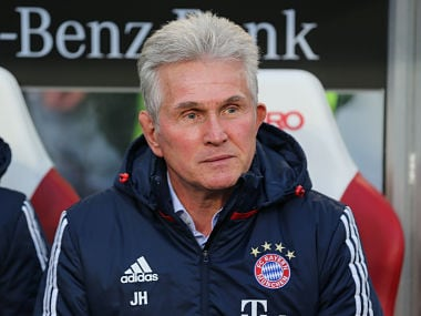 Soccer Football - Bundesliga - VfB Stuttgart vs Bayern Munich - Mercedes-Benz Arena, Stuttgart, Germany - December 16, 2017 Bayern Munich coach Jupp Heynckes before the match REUTERS/Thomas Niedermueller DFL RULES TO LIMIT THE ONLINE USAGE DURING MATCH TIME TO 15 PICTURES PER GAME. IMAGE SEQUENCES TO SIMULATE VIDEO IS NOT ALLOWED AT ANY TIME. FOR FURTHER QUERIES PLEASE CONTACT DFL DIRECTLY AT + 49 69 650050 - RC188357E900