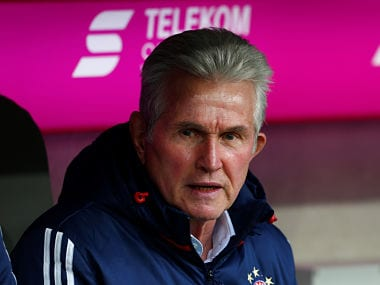 Soccer Football - Bundesliga - Bayern Munich vs Werder Bremen - Allianz Arena, Munich, Germany - January 21, 2018 Bayern Munich coach Jupp Heynckes REUTERS/Michaela Rehle DFL RULES TO LIMIT THE ONLINE USAGE DURING MATCH TIME TO 15 PICTURES PER GAME. IMAGE SEQUENCES TO SIMULATE VIDEO IS NOT ALLOWED AT ANY TIME. FOR FURTHER QUERIES PLEASE CONTACT DFL DIRECTLY AT + 49 69 650050 - RC12AC32F0C0