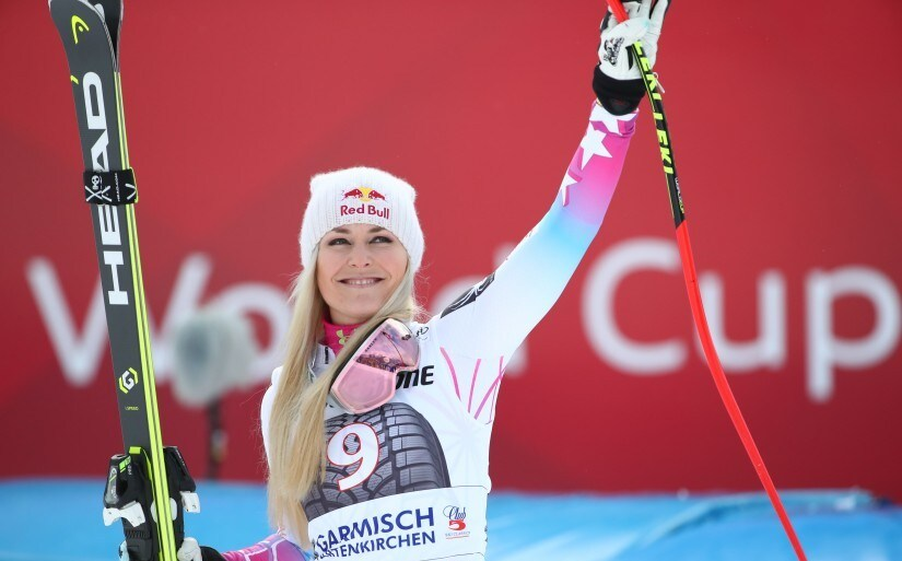 Vonn records 81st win ahead of Olympics