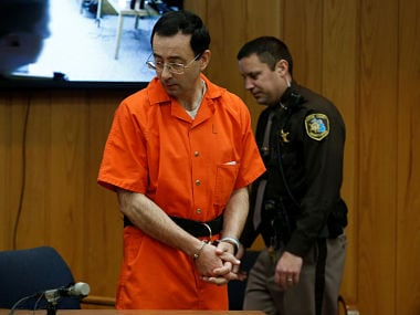 Larry Nassar slapped with third prison sentence, this time up to 125 years for sexual abuse
