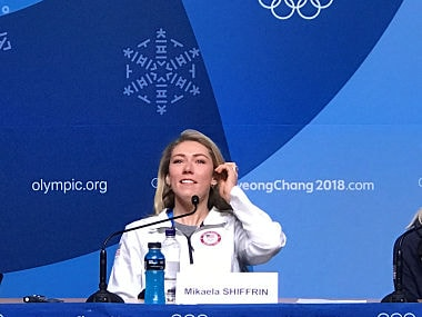 Winter Olympics 2018: USA's Mikaela Shiffrin has no qualms over decision to skip downhill event