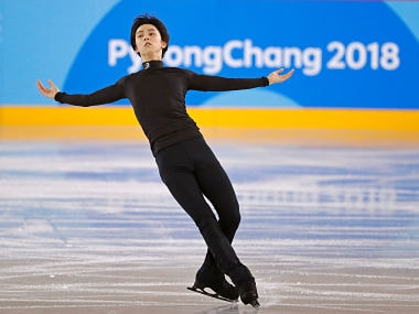 Figure Skating – Pyeongchang 2018 Winter Olympics – Training – Gangneung Ice Arena - Gangneung, South Korea – February 12, 2018 - Yuzuru Hanyu of Japan trains. REUTERS/John Sibley - RC16047CA780