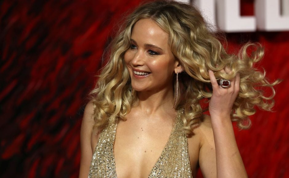 Jennifer Lawrence, Joel Edgerton, Jeremy Irons attend Red Sparrow premiere in London