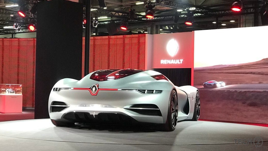 Auto Expo 2018: The sleek Renault Trezor concept gives us a dreamy glimpse of an electric future