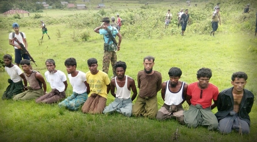 The 10 Rohingya men killed by Myanmar troops and Buddhist villagers in Rakhine state. Reuters