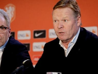 Ronald Koeman on Tuesday was announced as the new manager of The Netherlands. Image Courtesy: KNVB.nl