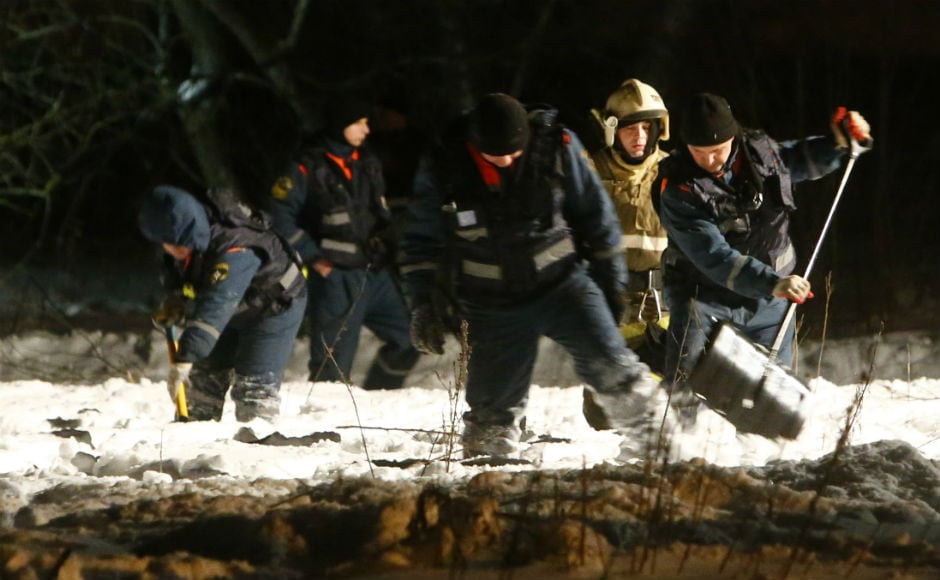 Russia's Investigative Committee said numerous possible causes of the crash would be considered, including weather conditions as the country has experienced record snowfall in recent weeks. Reuters
