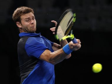 File photo of Ryan Harrison of the US. Reuters