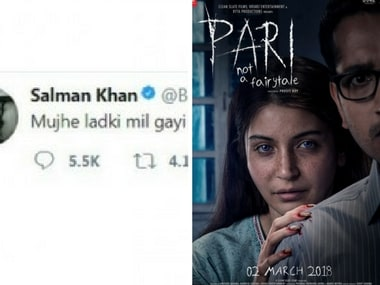 Salman finds new female lead; poster from Anushka Sharma-starrer Pari released: Social Media Stalkers' Guide