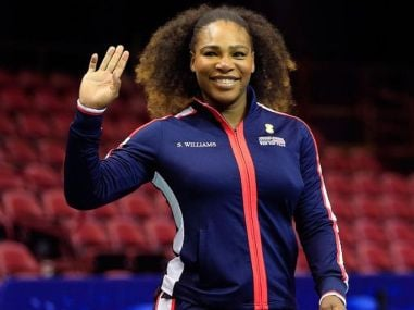 Serena Williams will make her return to competitive tennis at the Fed Cup. Image courtesy: Twitter/@USTA