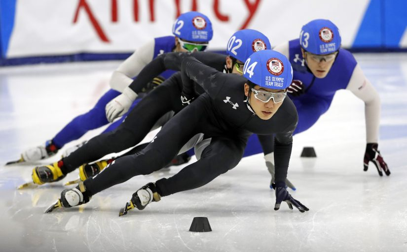 File photo of a short track speed racing event in USA. Reuters