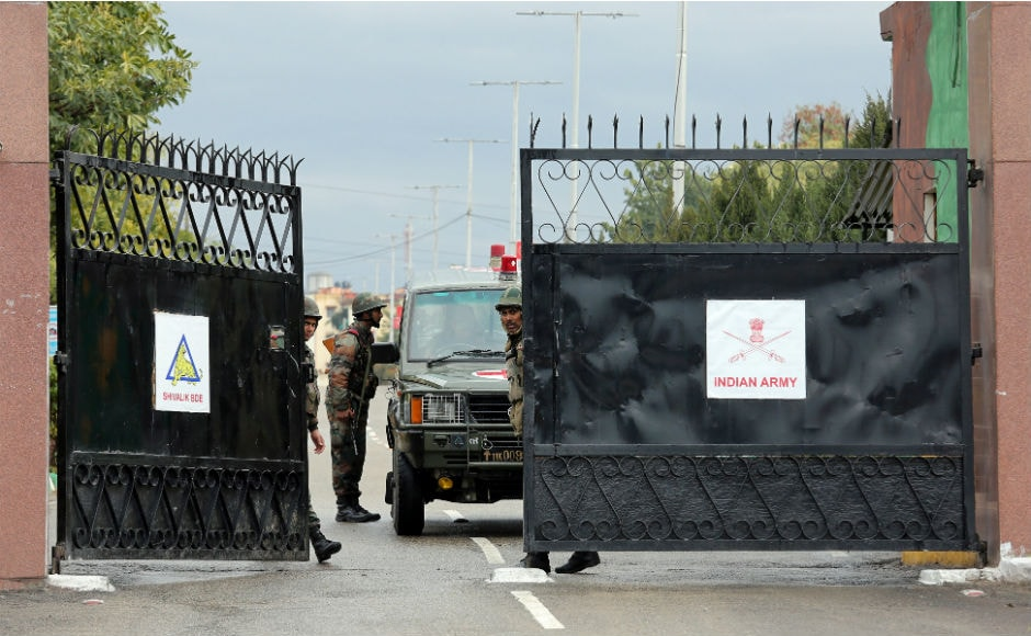 Afterthe encounter got over on Monday, Defence Minister Nirmala Sitharaman visited the camp to take stock of the situation. Reuters