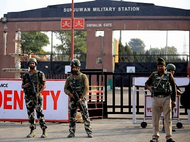 The Sunjwan army camp in Jammu was attacked by JeM militants on Saturday. PTI