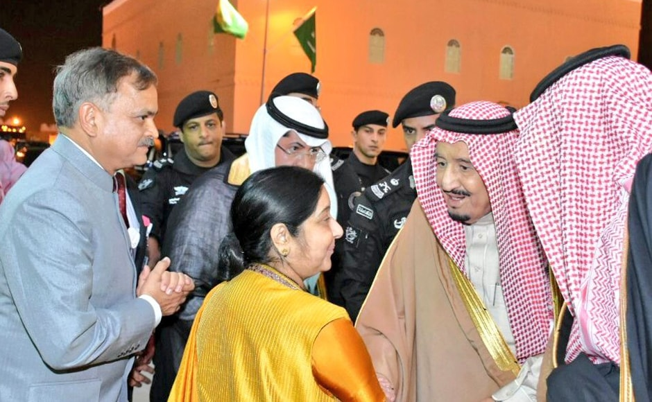 King Salman, in the presence of Swaraj, inaugurated the festival which exhibits Saudi Arabia's culture and heritage. Speaking at the inaugural function, Swaraj saidthe festival provides an opportunity to showcase and further build upon relationship between the two nations. Twitter @MEAIndia