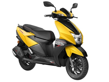 TVS Ntorq 125 scooter launched with Bluetooth connectivity and navigation assist at Rs 58,750