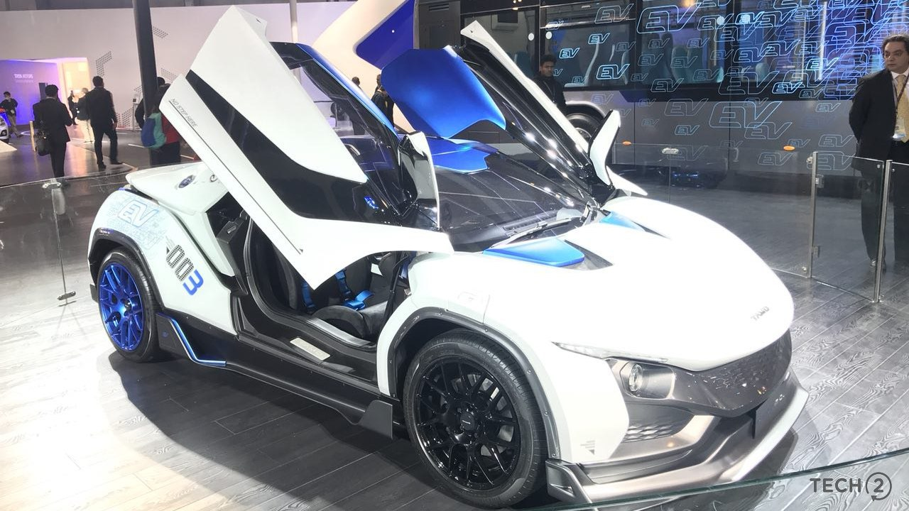 Auto Expo 2018: A closer look at India's first globally developed sports car, the Tamo RaceMo