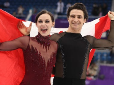 Winter Olympics 2018: 'We skated with our hearts', says Tessa Virtue after clinching ice dance gold with partner Scott Moir