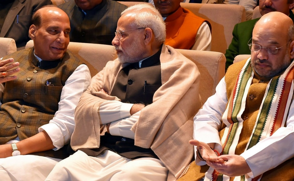 The prime minister also asked the gathering to hold meetings at booths to take various welfare schemes announced in the budget to people and run intensive campaigns to propagate them. PTI